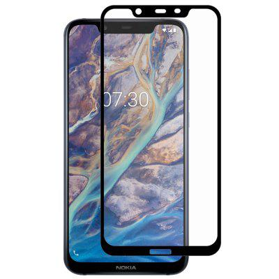 Hat - Prince Full Size 0.26mm 9H 2.5D Full-screen Tempered Glass Protective Film for Nokia 8.1 / Nokia X7