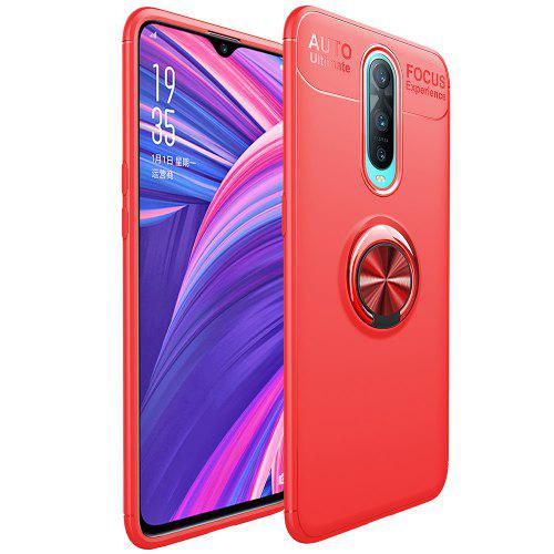 reputable site 3ab65 75b49 Magnetic Finger Ring Phone Case for OPPO R17 Pro / RX17 Pro
