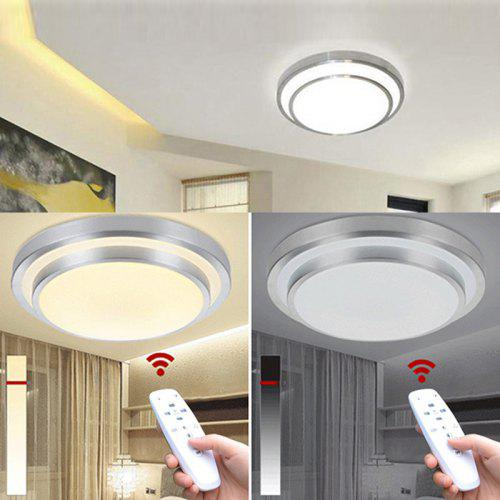 Led Ceiling Lights Change Color Temperature Lamp 40w Smart Remote Control Dimmable Bedroom Living Room Gearbest