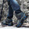 Winter Plush Outdoor Hiking Boots for Men - GRAY