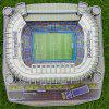 Cool Stadium 3D DIY Puzzle Model Toy for Kids - WHITE