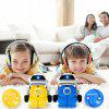Mini Pull-ring Can RC Robot Infrared Puzzle Toy for Children - OCEAN BLUE