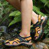 Men's Large Size Outdoor Beach Sandals Comfortable Breathable - YELLOW