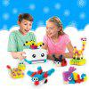 Amazing Sticky Pinched Fluffy Ball Building Blocks Insert Toy for Children - MULTI