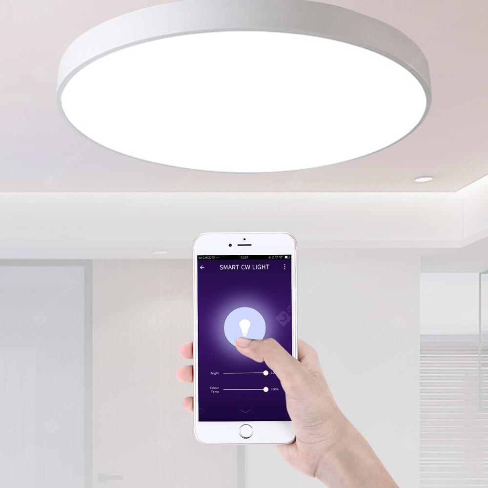Utorch UT30 Smart Voice Control LED Ceiling Light 18W AC 220VWhite 30CM