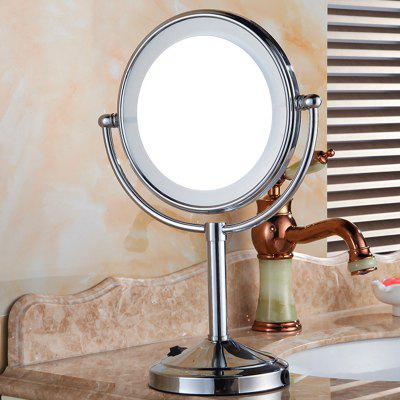 Collapsible Punch-free Bathroom Vanity LED Mirror