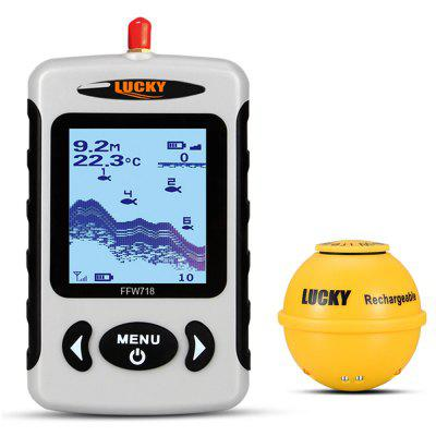 LUCKY FFW718LA 135ft Fishing Attractive Lamp Wireless Portable Fish Finder