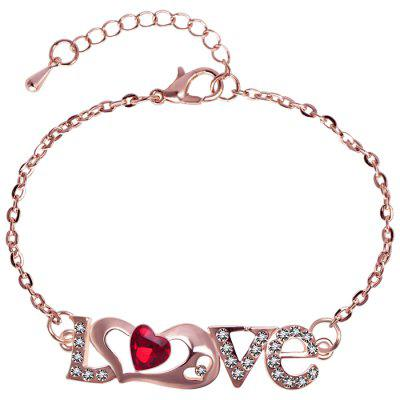 LS - 0070 Simple LOVE Love Damen Wear Armband