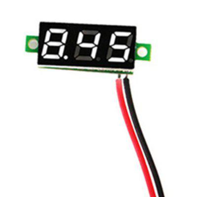 0.28 Inch 2.5V-30V Mini Digital Voltmeter