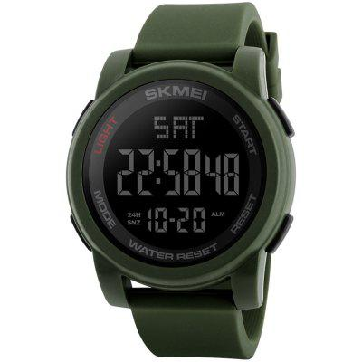 SKMEI 1257 Personalidade Trendy Men Outdoor Multi-função Sports Electronic Watch