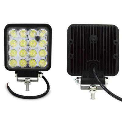 DC12 - 80V 48W Car Work Square Led Light
