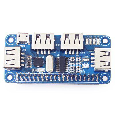 LC USB - HUB - PI  Expansion Board Integrator for Raspberry Zero / Zero W / 3B+