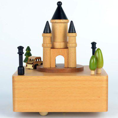 52705010 Castle Music Box