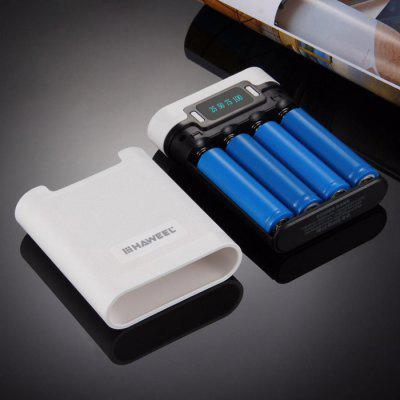 Haweel 10000mAh 4 x 18650 Battery Charger DIY Power Bank Kit at Only $6.69 Frees You of Power Shortage