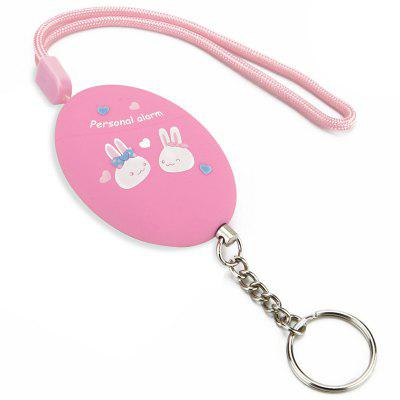 AF - 3201 Cartoon Keychain Mini Light Self Protection Safety Alarm