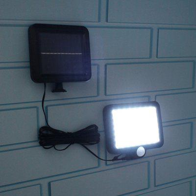 56-LED Solar Power Wall Light for Outdoor Garden