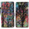 Painted TPU + PU Leather Phone Case for Samsung Galaxy Note 9 - MULTI-A