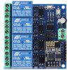 LC Relay - ESP01 - 4R - 12V ESP8266 WIFI Relay - MULTI-A