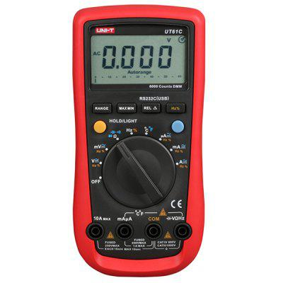 UNI - T UT61C Digital Multimeter True Rms AC DC Meter