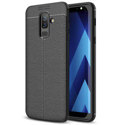 TPU Litchi Grain Phone Case für Samsung Galaxy A6 Plus