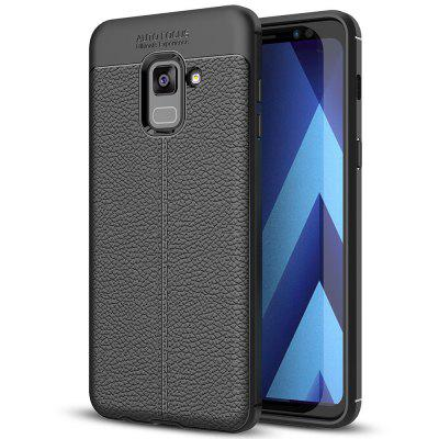 TPU Litchi Grain Phone Case for Samsung Galaxy A8