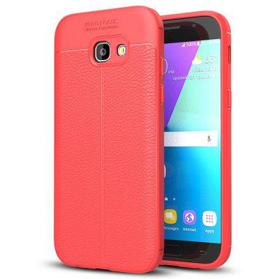 TPU Lychee Telefoonhoes voor Samsung Galaxy A520 / A5