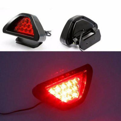 Universal F1 Style 12 LED Rear Tail Stop Safety Car Brake Lights