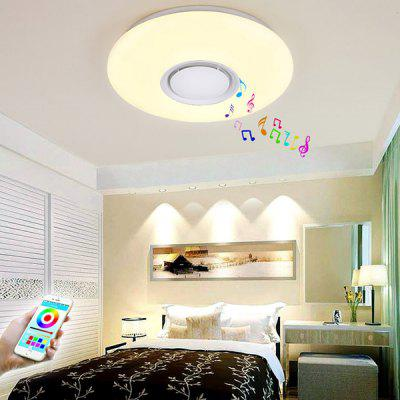 36W Stepless Dimming Music Ceiling Lamp with Remote Control
