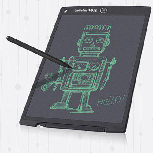 Graphic Electronic Doodling Pad 8.5 Inch LCD Cartoon Writing Tablet Magnetic Family Notes Board Pink High-Light and Anti-Impact E-Writer with Stylus and Battery Buckle for Kids Waterproof