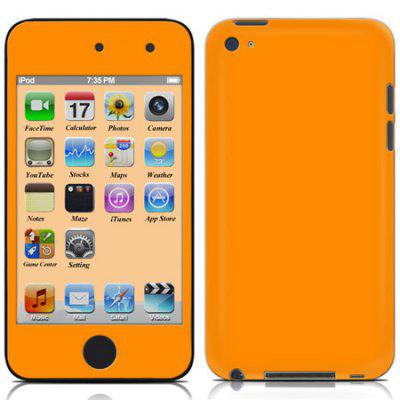 Plain Color Sticker for iPod touch 4
