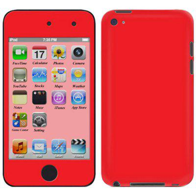 Plain Color Fashion Sticker for iPod touch 4