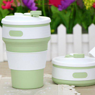 Silicone Folding Telescopic Coffee Cup