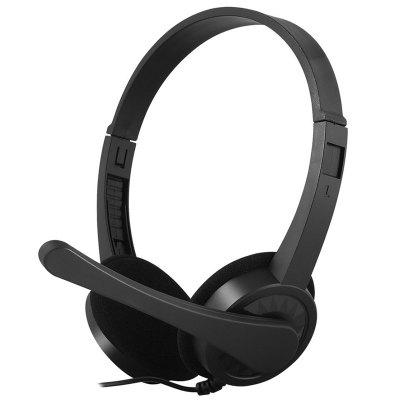 Remote Control Music Wired Headset