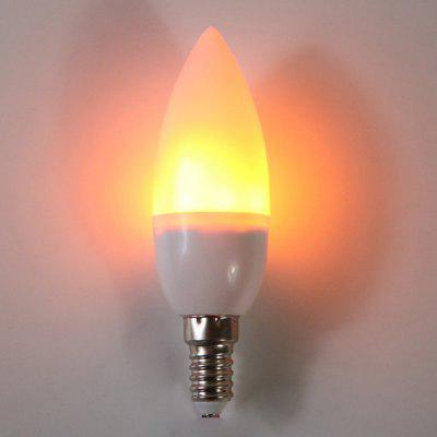 LED Candle Light Simulation Flame Tip Tail Flame Bulb