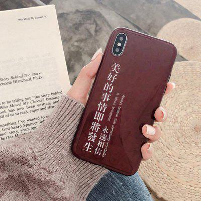 Good Things Phone Case for iPhone X