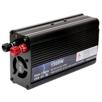 OED1000M - A2 Automotive 2000W / 1500W DC 12V to AC 220V Inverter Charger Power Adapter