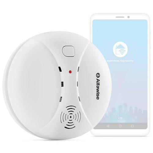 Smoke Detector Fire Protection 433mhz Wireless Fire Smoke Detector Heat Temperature Sensor Security Alarm Monitor Fire Alarm