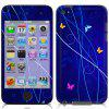 Colorful Sticker for iPod touch 4 - OCEAN BLUE
