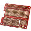 PCB HAT Shield For Raspberry Pi 2 / B+ / A+ - RED
