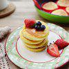 FYZ120221 4-hole Non-stick Silicone Omelet Pancake Mold Baking Tools - RED