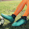 Men Fashionable High-top Soccer Sports Shoes - TURQUOISE