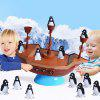 Balance Penguin Pirate Ship Fun Thrilling Parent-child Enlightenment Interactive Children's Leisure Desktop Tour - MULTI-A