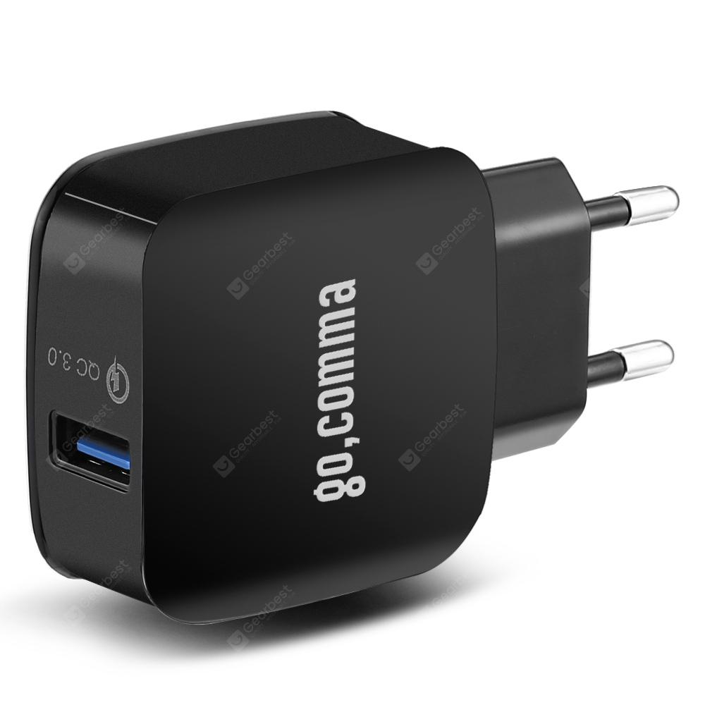 Gocomma QC 3.0 Power Adapter Charger | Gearbest