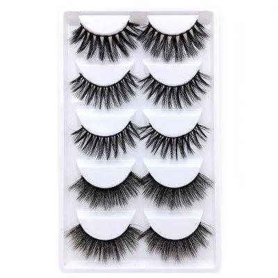 Lengthening Thickening Curling Manual False Eyelashes 10pcs