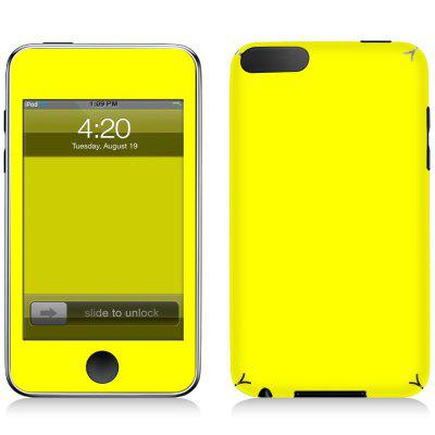 Fashion Simple Color Sticker per iPod Touch 3