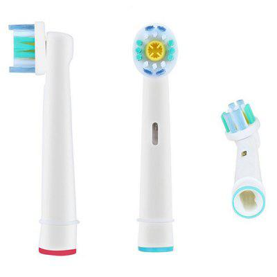 Simple Electric Toothbrush Head 4pcs