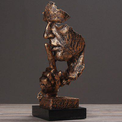 Creative Figure Abstract Sculpture Ornament Retro Model