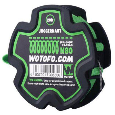 Wotofo Juggernaut Wire with Spool 20ft