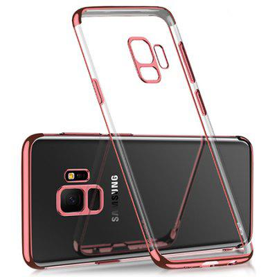 Cover protettiva Tpu Transparent Plating Soft Shell per Samsung S8 / 9 Plus