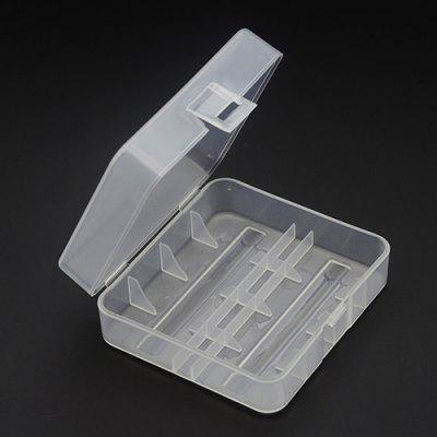Transparent Environmental 26650 Battery Protection Storage Box